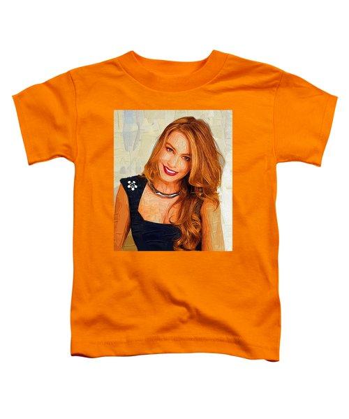 Actress Sofia Vergara  Toddler T-Shirt