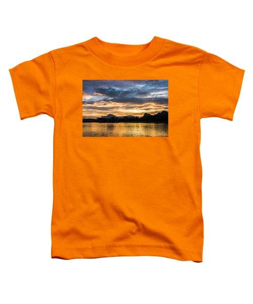 Sunrise Scenery In The Morning Toddler T-Shirt