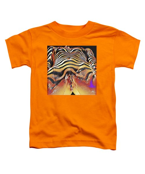 1290s-ak Intimate Vulval Portrait Rendered In The Style Of Francis Picabia  Toddler T-Shirt
