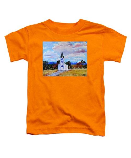 #17 St. Johns Historic Church On Hwy 69 Toddler T-Shirt