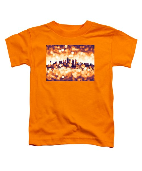 Philadelphia Pennsylvania Skyline Toddler T-Shirt