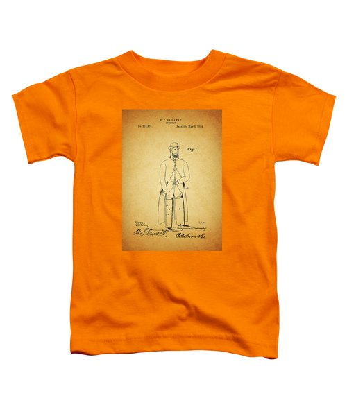 1894 Overcoat Patent Toddler T-Shirt