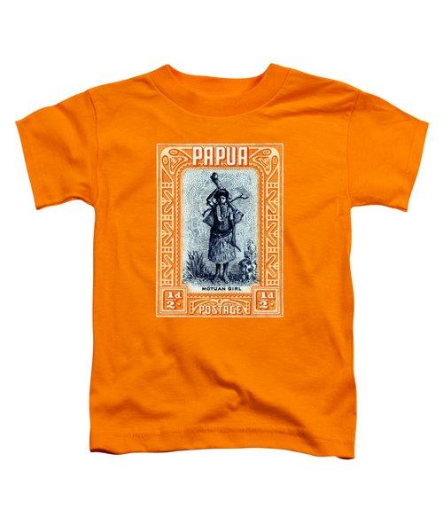 1932 Papua Motuan Stamp Toddler T-Shirt