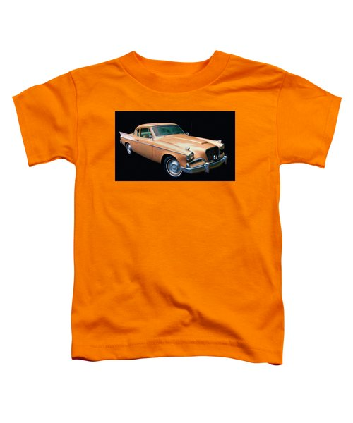 1957 Studebaker Golden Hawk Digital Oil Toddler T-Shirt