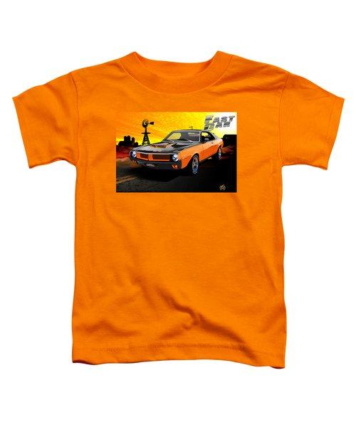 Toddler T-Shirt featuring the digital art 1970 Javelin by Doug Schramm