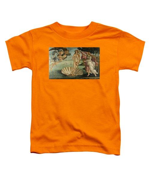 The Birth Of Venus, Detail Toddler T-Shirt