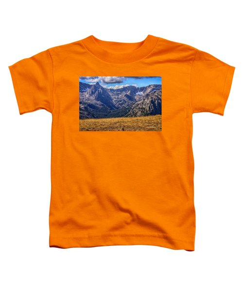 Rocky Mountain National Park Colorado Toddler T-Shirt