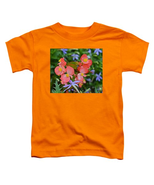 2015 Mid September At The Garden Begonias 2 Toddler T-Shirt