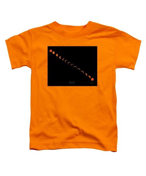 2017 Solar Eclipse Toddler T-Shirt