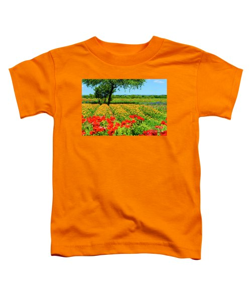 Hill Country In Bloom Toddler T-Shirt