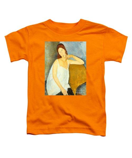 Jeanne Hebuterne Toddler T-Shirt