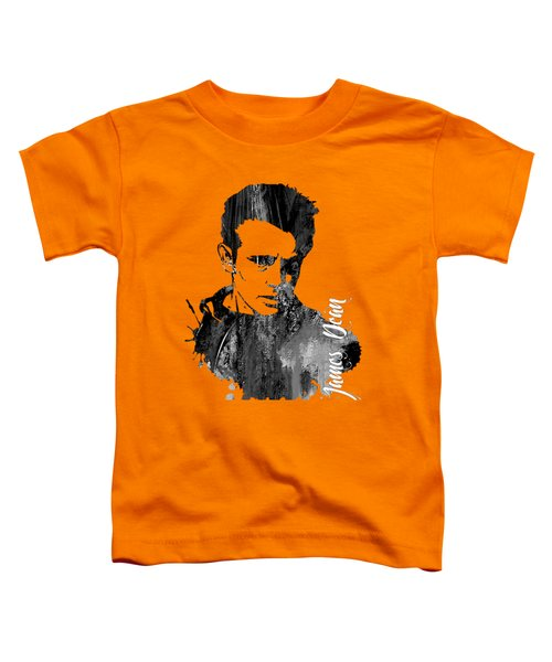 James Dean Collection Toddler T-Shirt by Marvin Blaine