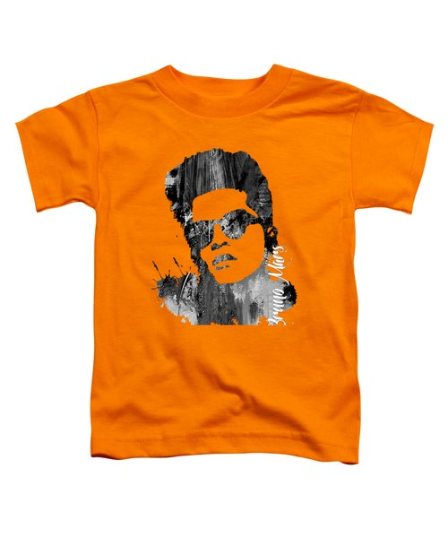 Bruno Mars Collection Toddler T-Shirt by Marvin Blaine