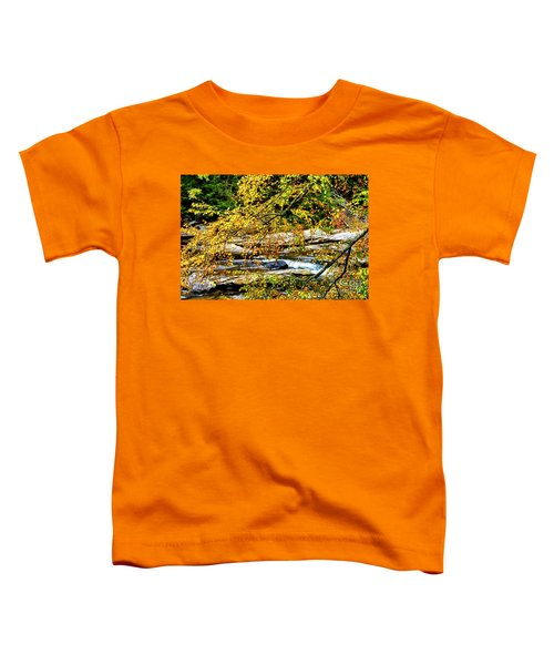 Autumn Middle Fork River Toddler T-Shirt