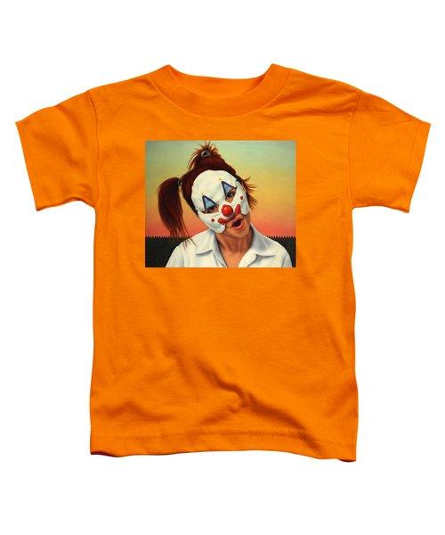 A Clown In My Backyard Toddler T-Shirt