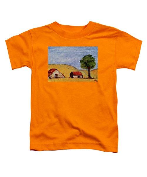 A Farm In California Winecountry Toddler T-Shirt