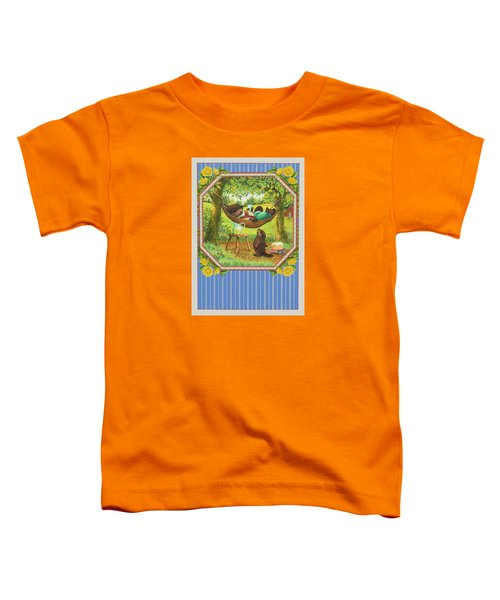 A Father's Day Treat Toddler T-Shirt by Lynn Bywaters