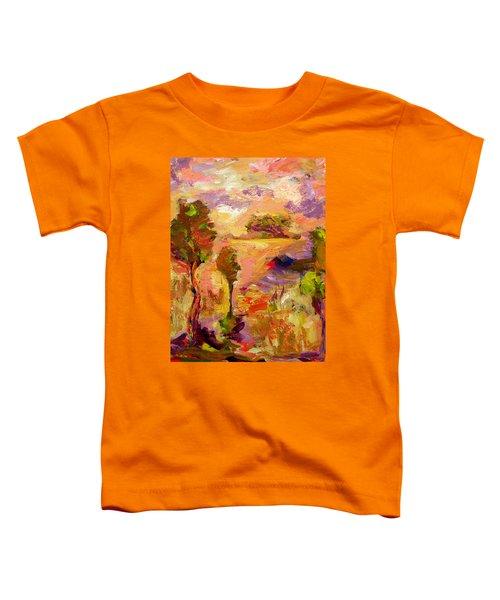 A Joyous Landscape Toddler T-Shirt