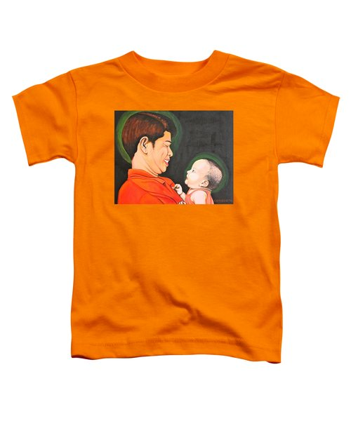 A Moment With Dad Toddler T-Shirt