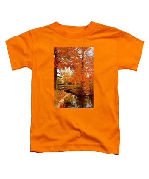 A Morning In Autumn - Lake Carasaljo Toddler T-Shirt