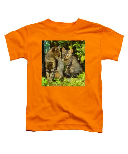 A Pair Of Feral Cats Toddler T-Shirt