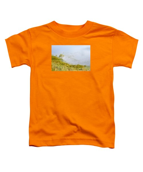 Toddler T-Shirt featuring the photograph A Tree In The Lake Of The Scottish Highland by Dubi Roman