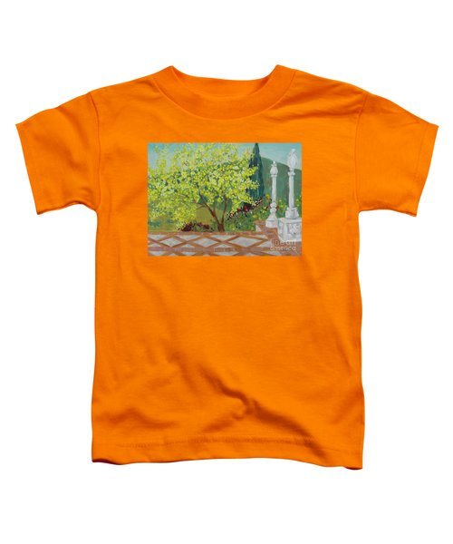 A View From Hearst Castle Toddler T-Shirt