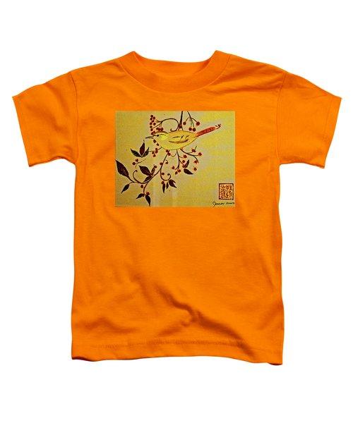 A Wren - In Pastel  Toddler T-Shirt