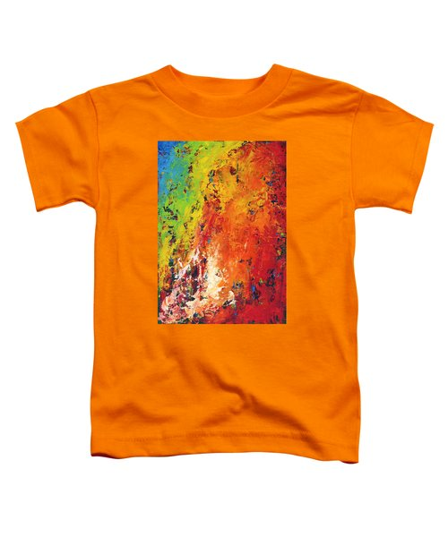 Abstract Land Toddler T-Shirt