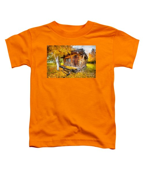 Alaskan Autumn Toddler T-Shirt