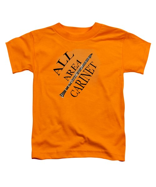 All Area Clarinet Toddler T-Shirt