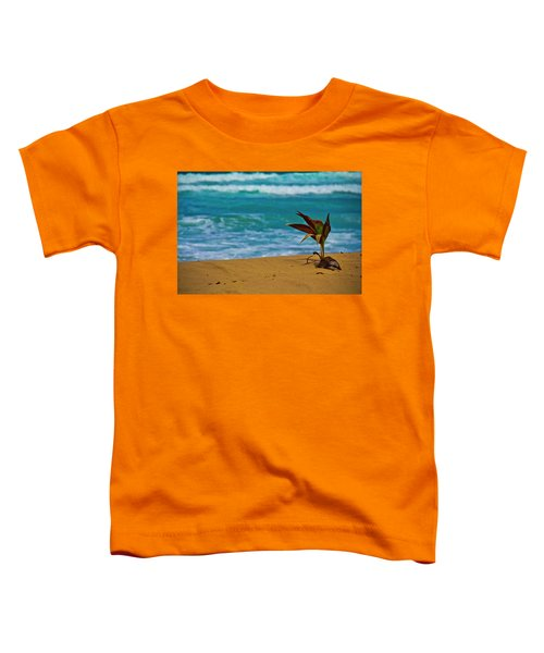Alone On The Beach Toddler T-Shirt