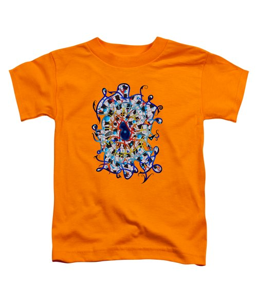 Amistedos V2 - Digital Art Toddler T-Shirt