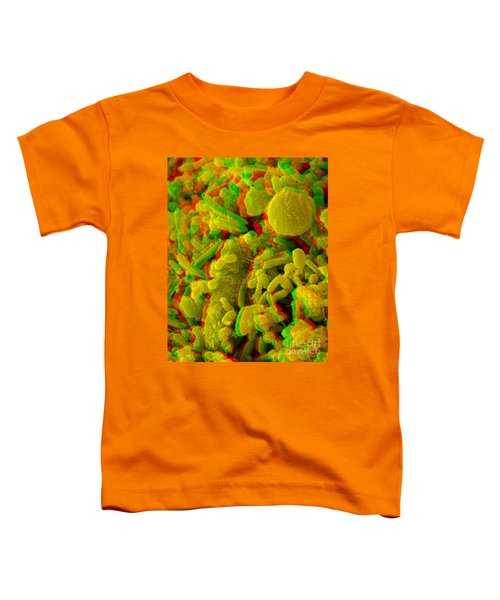Anaglyph Of Human Feces Toddler T-Shirt