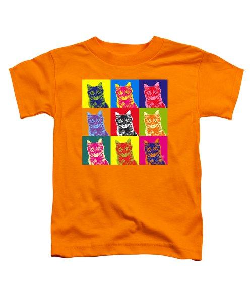 Andy Warhol Cat Toddler T-Shirt