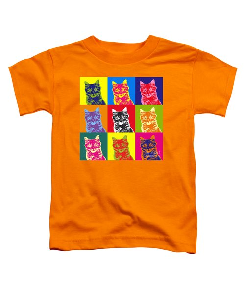 Andy Warhol Cat Toddler T-Shirt