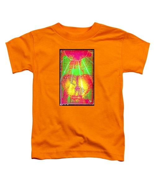 Ange De Paix Mondiale Toddler T-Shirt