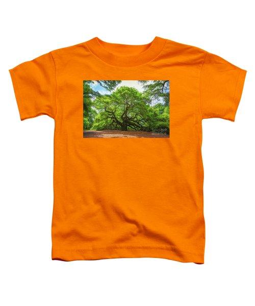 Angel Oak Tree In South Carolina  Toddler T-Shirt