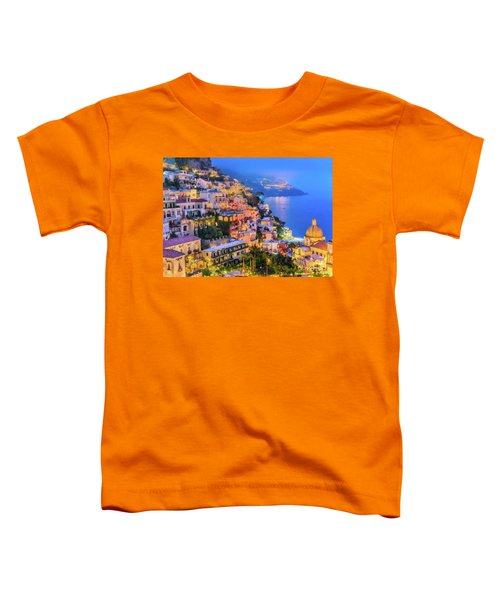 Another Glowing Evening In Positano Toddler T-Shirt