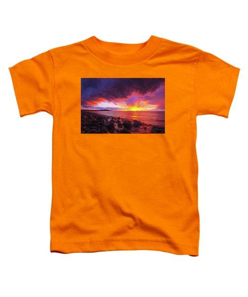 Antelope Island Sunset Toddler T-Shirt
