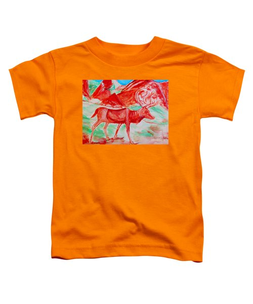 Antelope Save Toddler T-Shirt