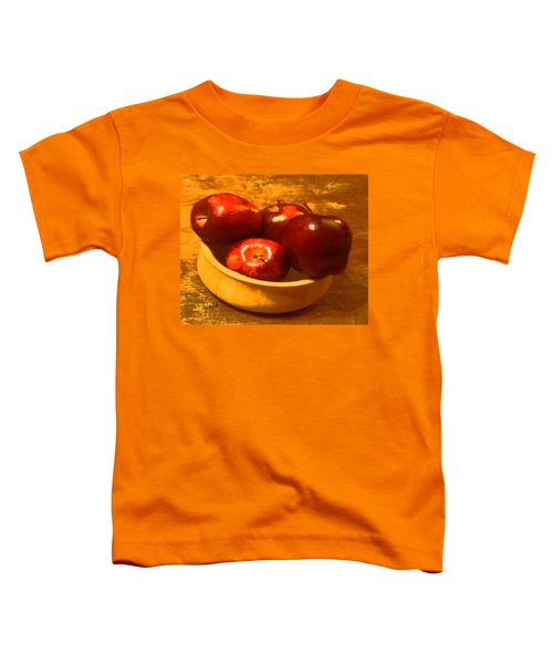 Apples In A Bowl Toddler T-Shirt