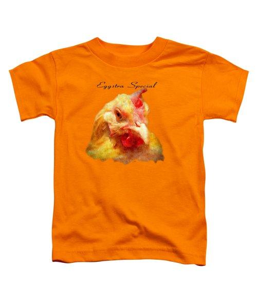 Goldie's Turn - Silk Paint Toddler T-Shirt by Anita Faye
