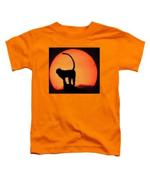 As The Day Ends Toddler T-Shirt