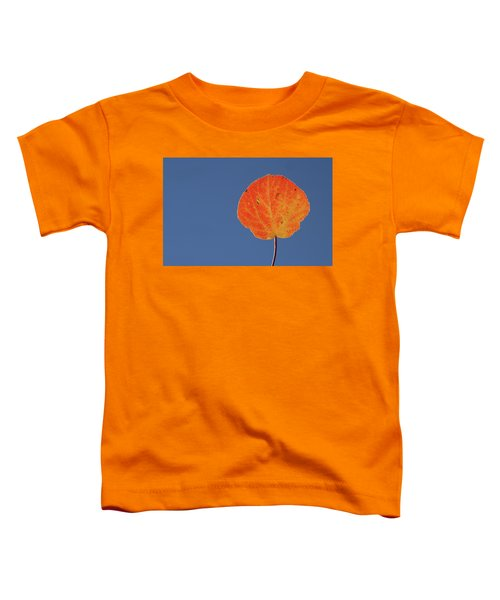 Aspen Leaf 1 Toddler T-Shirt