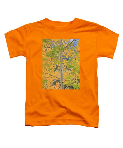 Aspen Watching You Toddler T-Shirt by David Chandler