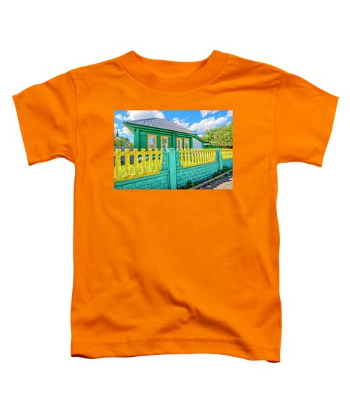 At Home In Belarus Toddler T-Shirt