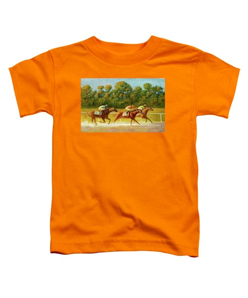 At The Finish Line Toddler T-Shirt