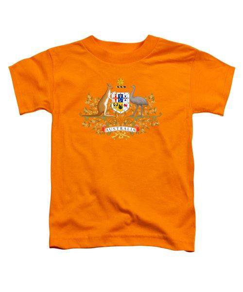 Australia Coat Of Arms Toddler T-Shirt