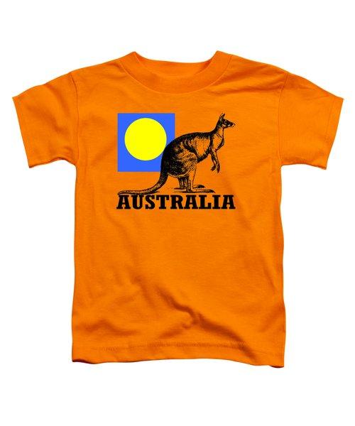 Australia-kangaroo Toddler T-Shirt